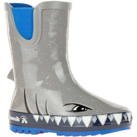 Kamik Sharky rubberlaarzen Kinderen, cloud grey